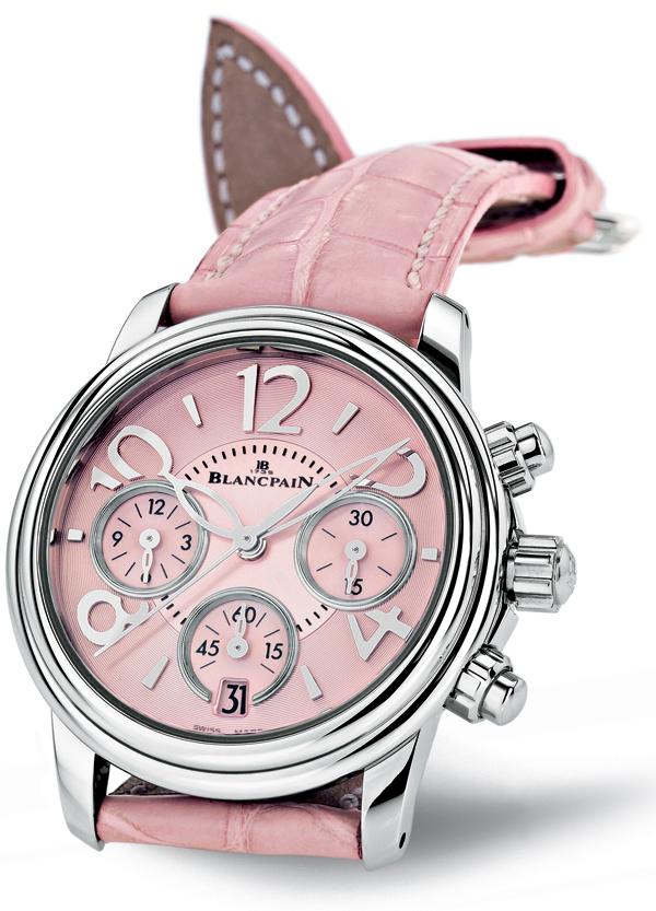 洁雅素里淡香来 宝珀(Blancpain)茶花系列女士手表