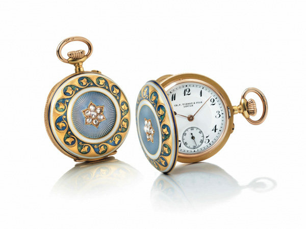 天梭1878项链挂表复刻版腕表