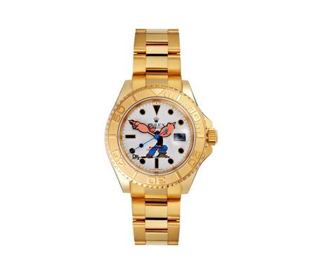 劳力士游艇系列黄金版腕表