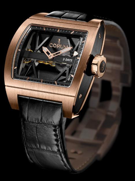 昆仑钛金属制钛桥动力储备腕表 美学设计及顶级制表技术於一体
