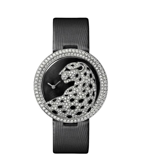 卡地亚Panthère divine de Cartier猎豹装饰腕表