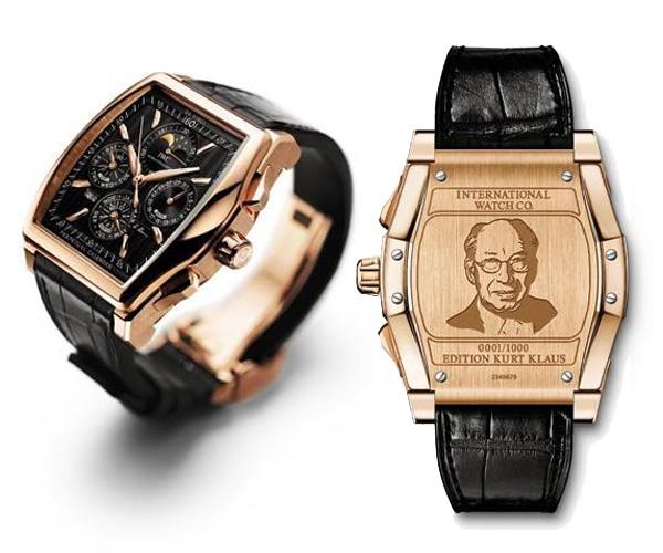 万国达文西万年历葛珞斯限量特别版手表 限量发行1000只