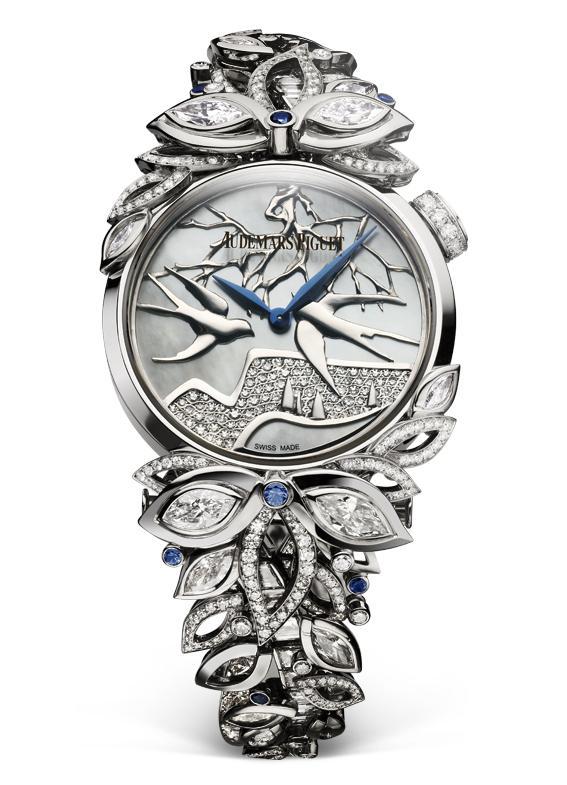 钟表与奇迹:爱彼高级珠宝腕表