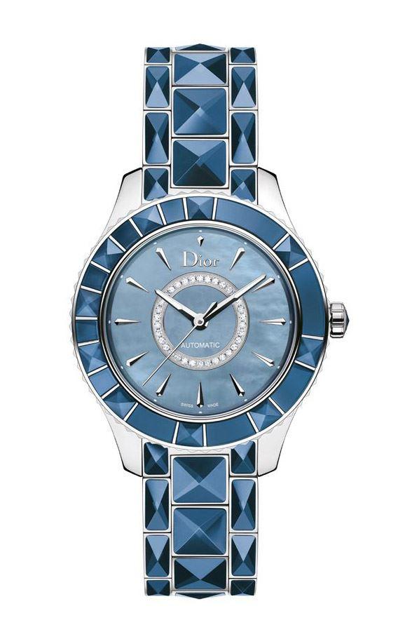 迪奥Dior Christal Blue 蓝宝石水晶腕表