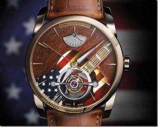 帕玛强尼Tonda系列 木质镶嵌陀飞轮音乐腕表