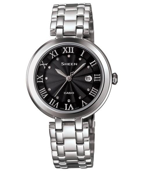 卡西欧SHEEN系列2013秋季女装新款腕表