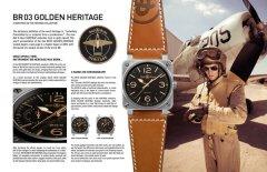 柏莱士 Heritage 系列,新款BR 03 Golden Heritage腕表