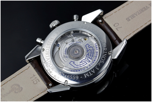 瑞士库尔沃CYS-Historiador 系列 cronotimpo 3197.1B 男士机械表