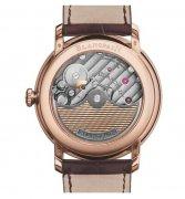 宝珀全新玫瑰金材质超薄腕表,典雅造型为主的正装表