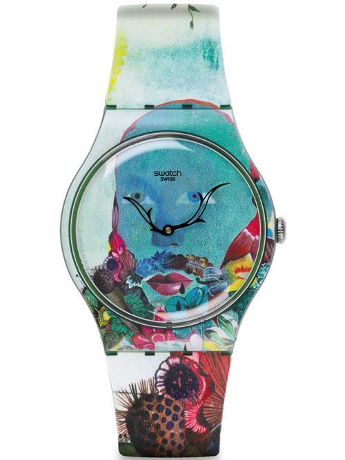 斯沃琪全新呈现魔幻现实主义插画艺术腕表