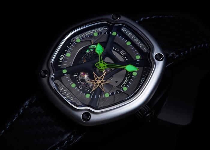 独立品牌Dietrich 1969推出复杂功能腕表
