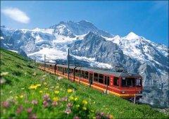 四季分明 行走在瑞士的四季童话里