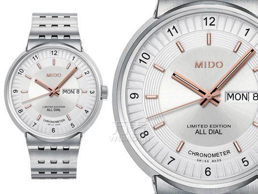 巴塞尔表展新品  美度三大建筑风格腕表