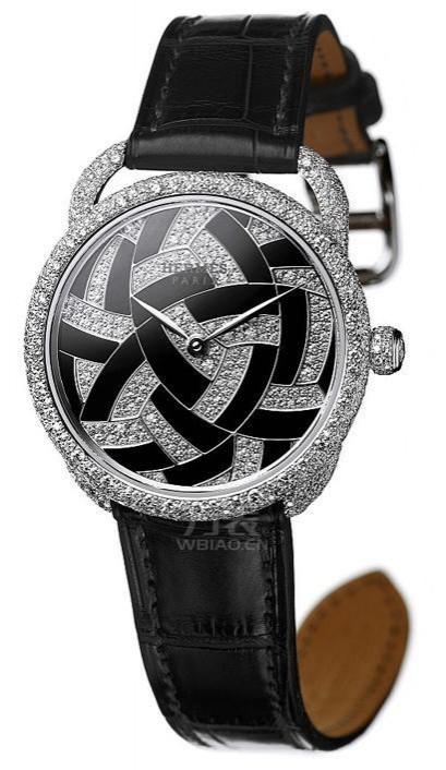 巴塞尔表展新品  爱马仕日式风雅Arceau Temari腕表