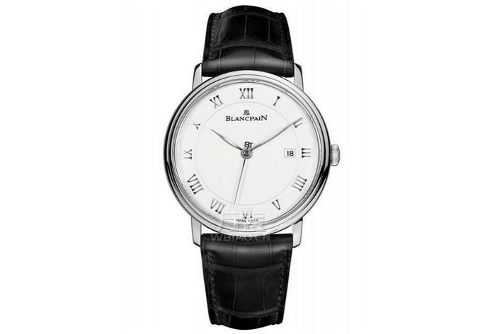 2014巴塞尔表展新品预览:宝珀Villeret系列新款玫瑰金腕表