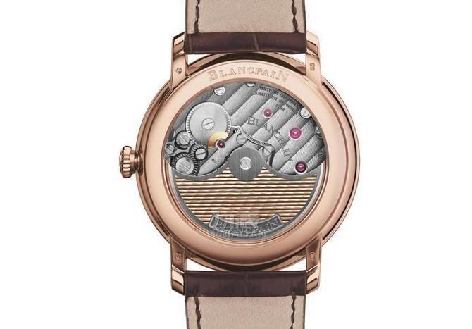 巴塞尔表展新品  宝珀Villeret系列新款玫瑰金腕表