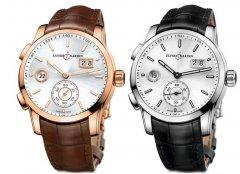 雅典全新独创双时区腕表,时刻陪伴散发出优雅休闲气息