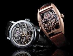 法兰克穆勒动力储存镂空腕表,镂空表款更蕴含着时计技术