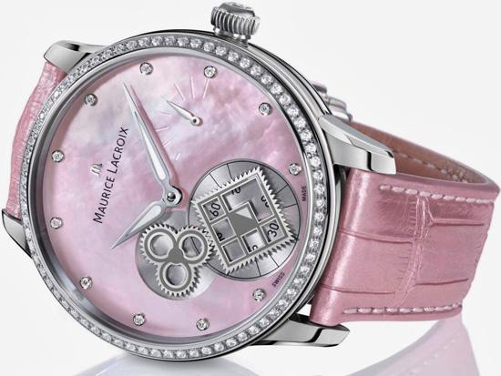 2014巴塞尔新品:艾美全新匠心方形齿轮腕表