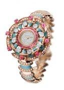 宝格丽全新DIVA高级珠宝系列腕表