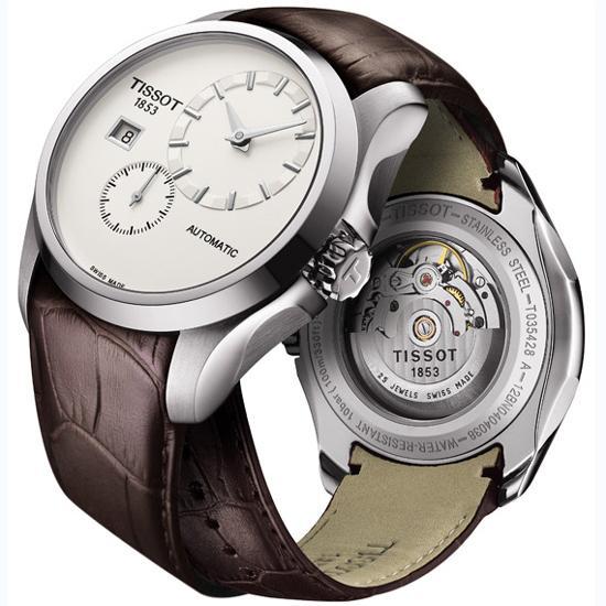 天梭库图系列小秒针腕表