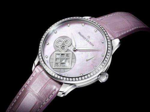 艾美全新匠心系列方形齿轮腕表