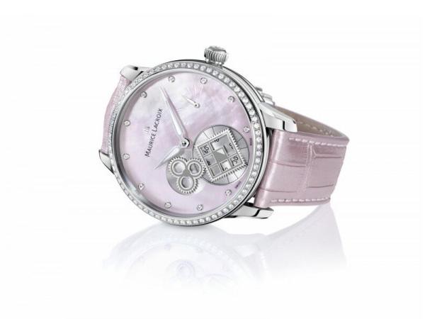 "Masterpiece Square Wheel""Pink Pearl""腕表"