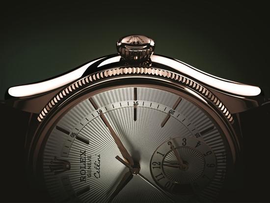 劳力士切利尼系列全新两地时间腕表