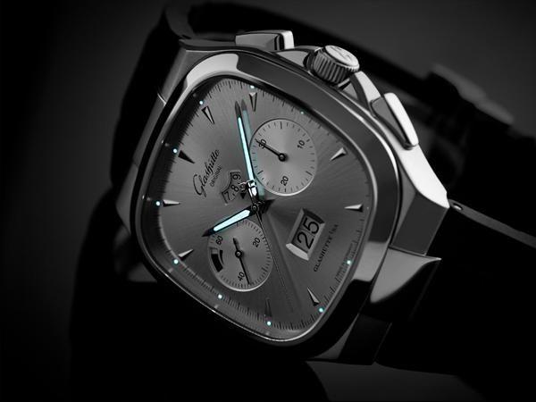 格拉苏蒂七十年代大日历计时腕表