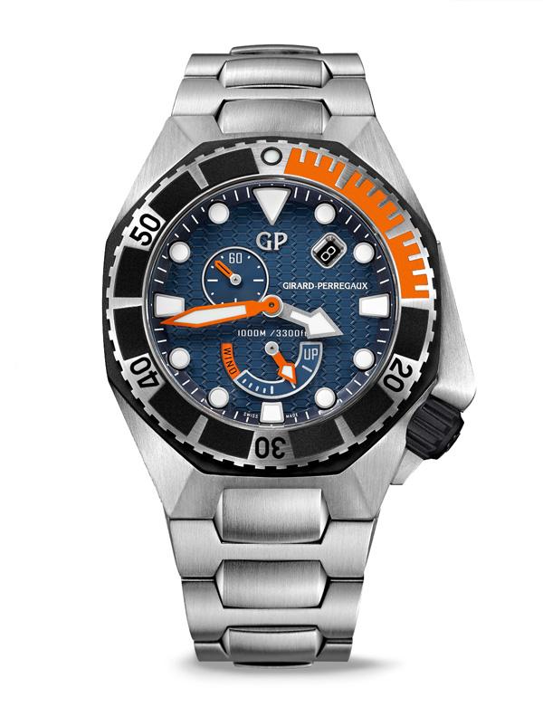 芝柏表全新Sea Hawk 潜水表 以典雅形态彰显卓越性能