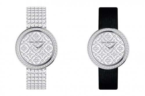 路易威登推出Dentelle de Monogram蕾丝珠宝腕表