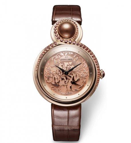 雅克德罗优雅8腕表,赋予女性美好的祝福与希望