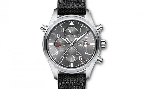 万国表瑞士巡逻兵纪念版腕表 飞行员理想计时伙伴